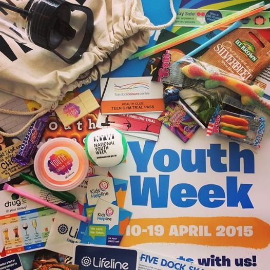 100 Youth Week showbags ready to give away at our 2 Youth Week events! They include USB's, bouncy putty, drink bottle, happy sack plus much more!