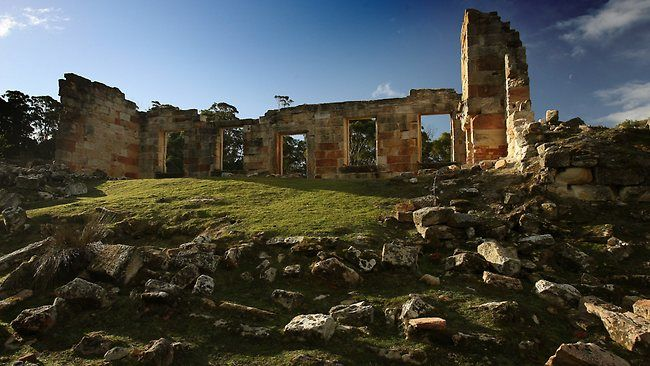 Coal Mines Historical Site at Saltwater River, Tasmania. Picture: Leigh Winburn