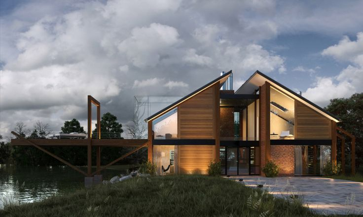 Imagen de http://construyehogar.com/wp-content/uploads/2014/06/Dise%C3%B1o-de-casa-de-madera-moderna.jpg.