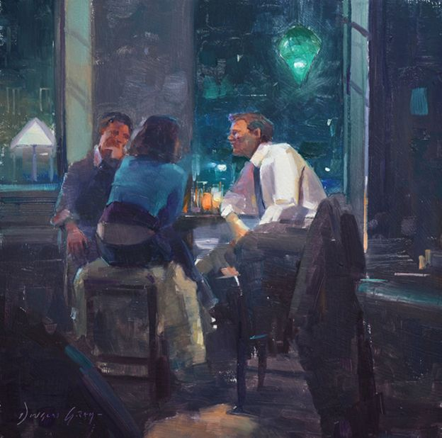 Figurative Paintings - Douglas Gray | Contemporary English Artist of Figurative and Landscape Oil Paintings