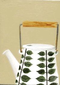 30s tea pot