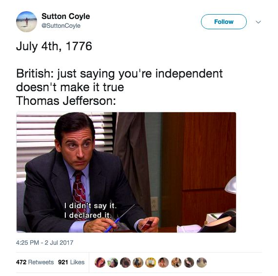 15 Hilarious 4th Of July Tweets That'll Make You Feel Like A True American