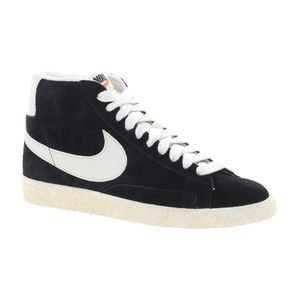 Nike Mid Black Suede Trainers