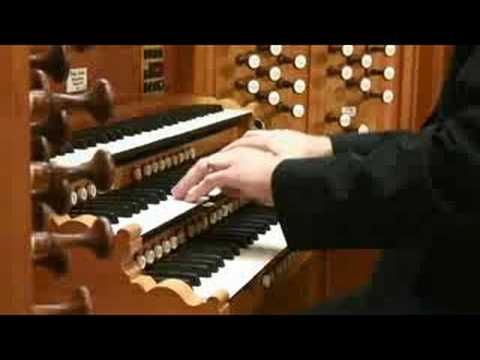 Prelude in C Major pipe organ music  -  I am glad they show a lot of the footwork, so many do not show it, and footwork is so vital to good organ music and showmanship.