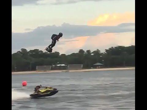 Летающий борд VS водный мотоцикл