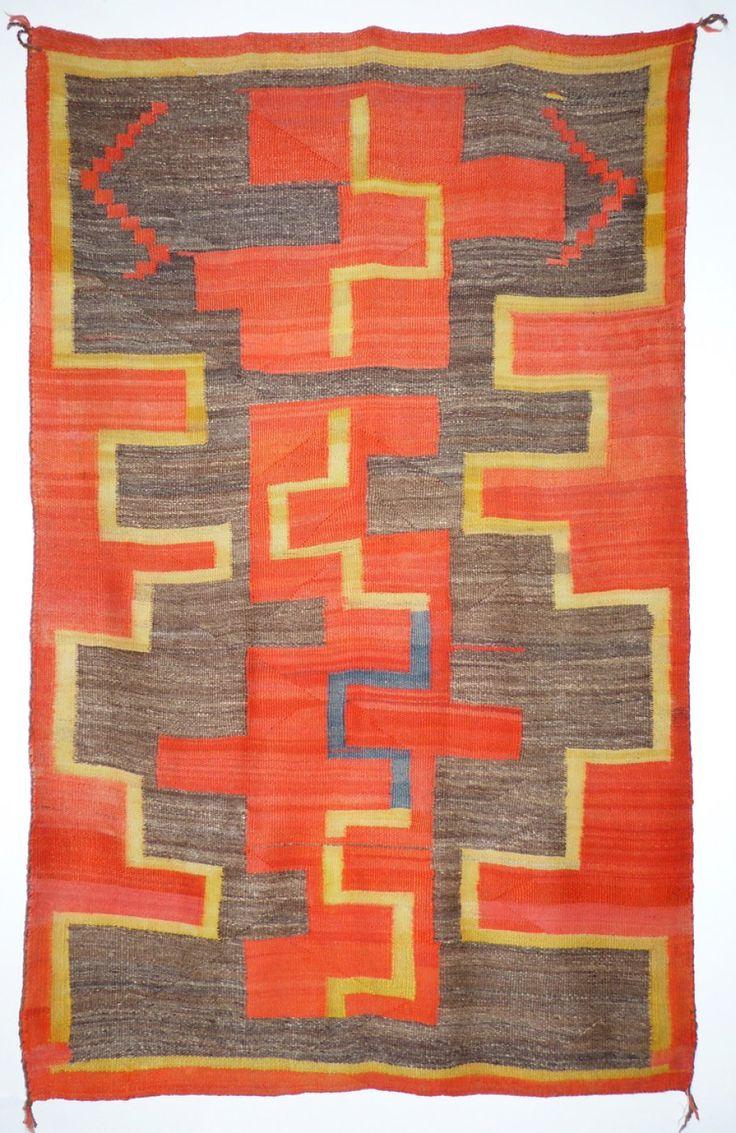 Navajo Transitional Blanket, c.1890   Shiprock Santa Fe