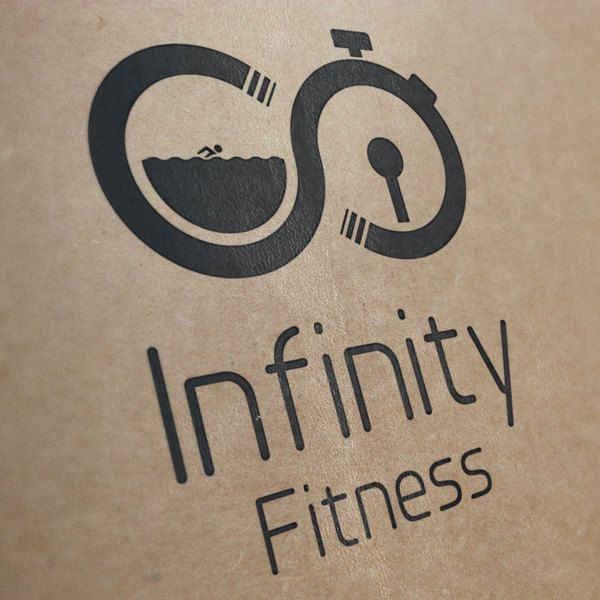 Infinity Fitness Logo Concept by Lee Potter, via Behance #logo #GraphicDesign #design
