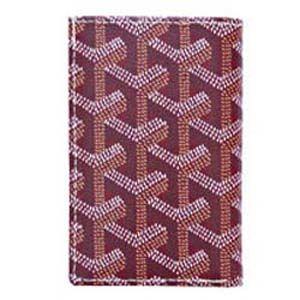 ゴヤールコピー カードケースレディースパスケースボルドーAPM11533 ブランドコピー スーパーコピー 財布コピー