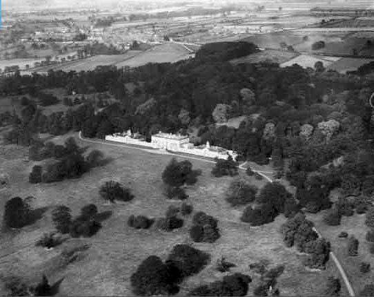 1926-Kippax Park, showing Quarry Plantation