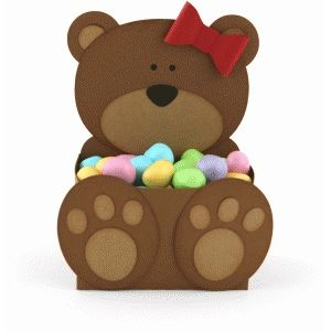 Silhouette Design Store - View Design #75792: bear belly box