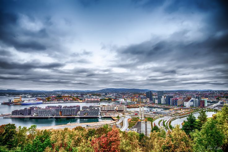 Photo listed in Cityscape at Oslo October 2016 (view from east side).