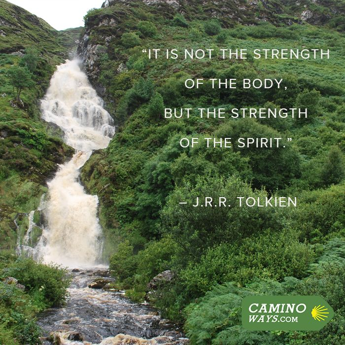"""""""It is not the strength of the body but the strength of the spirit"""" - J.R.R. Tolkien #Inspiration #MotivationMonday"""