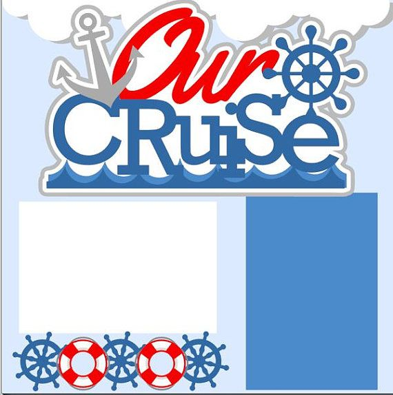 Cruise 2-page 12 X12 Scrapbook Page Kit or by MemoriesByDezyn