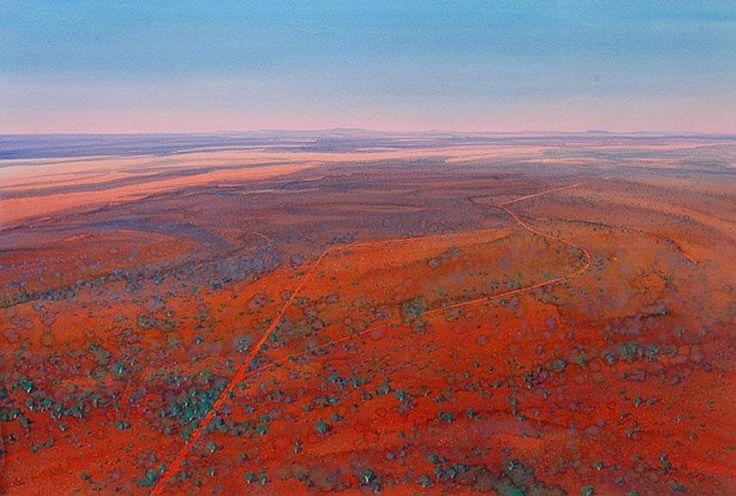watercolours art desert australian outback - Google Search