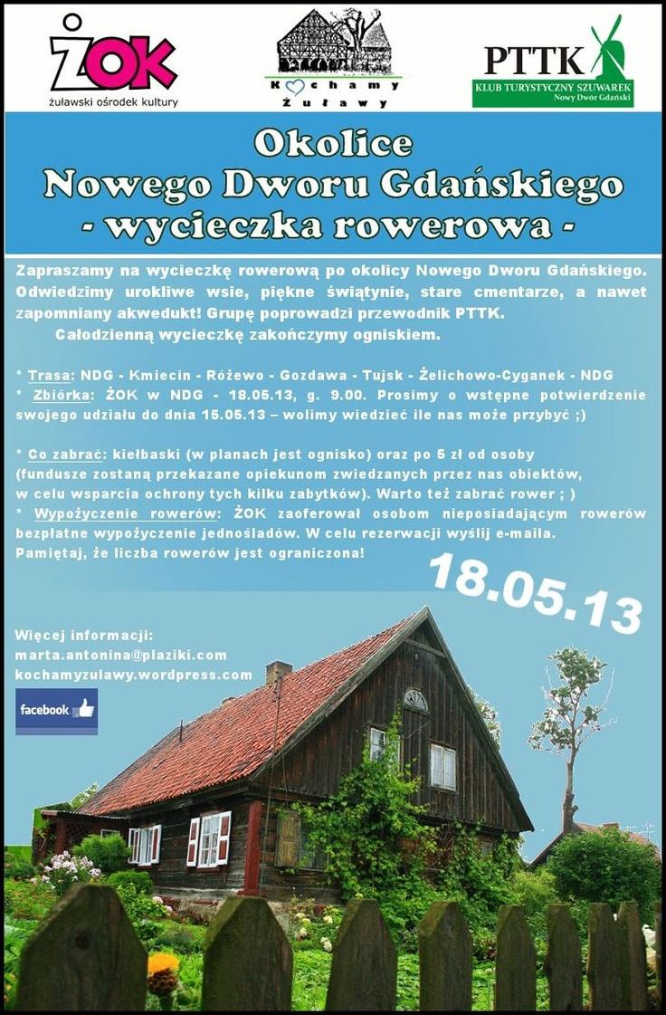 Nasza kolejna wycieczka po Żuławach już 18.05!!!
