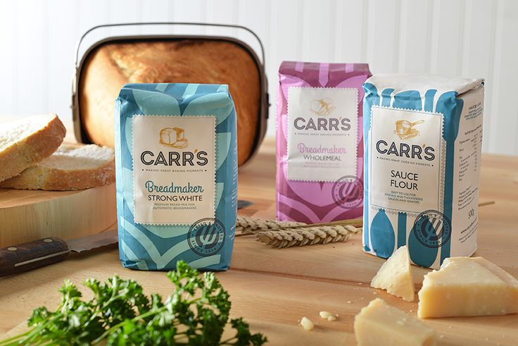 Carr's Flour — The Dieline - Branding & Packaging Design