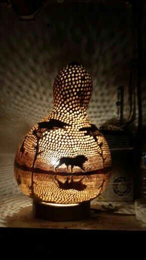 Natural gourd lamp                                                                                                                                                                                 More