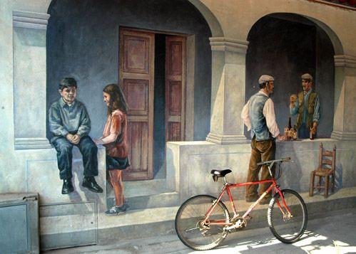 murales Sardegna    #TuscanyAgriturismoGiratola