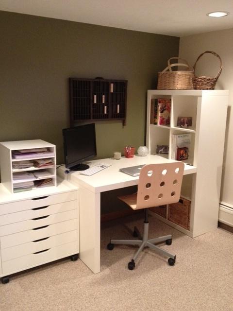 Kim's office Make Over! #Ikea
