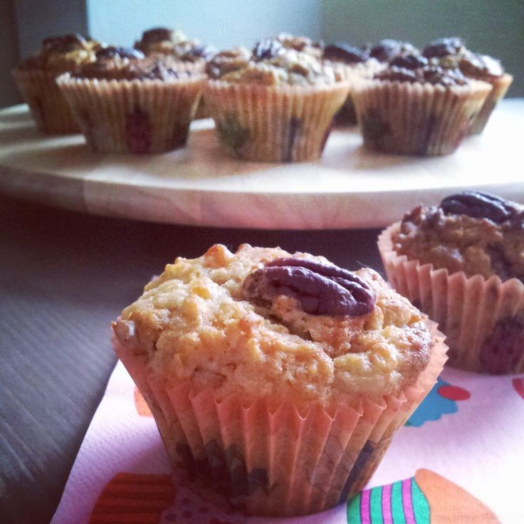 sweet melange: Tvarohové muffiny s ořechy / Muffins from quark with nuts