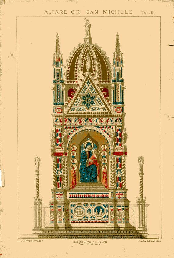 Best Vintage Architectural Prints Images On Pinterest