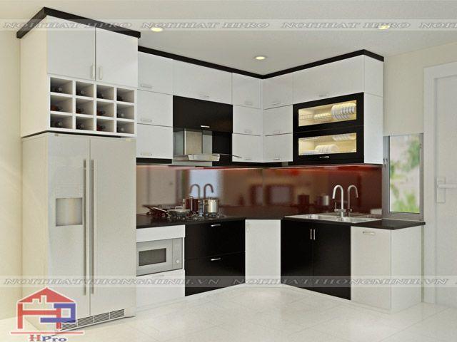 Tủ bếp acrylic là gì? Sản phẩm thuộc dòng tủ bếp gỗ công nghiệp cao cấp, với…