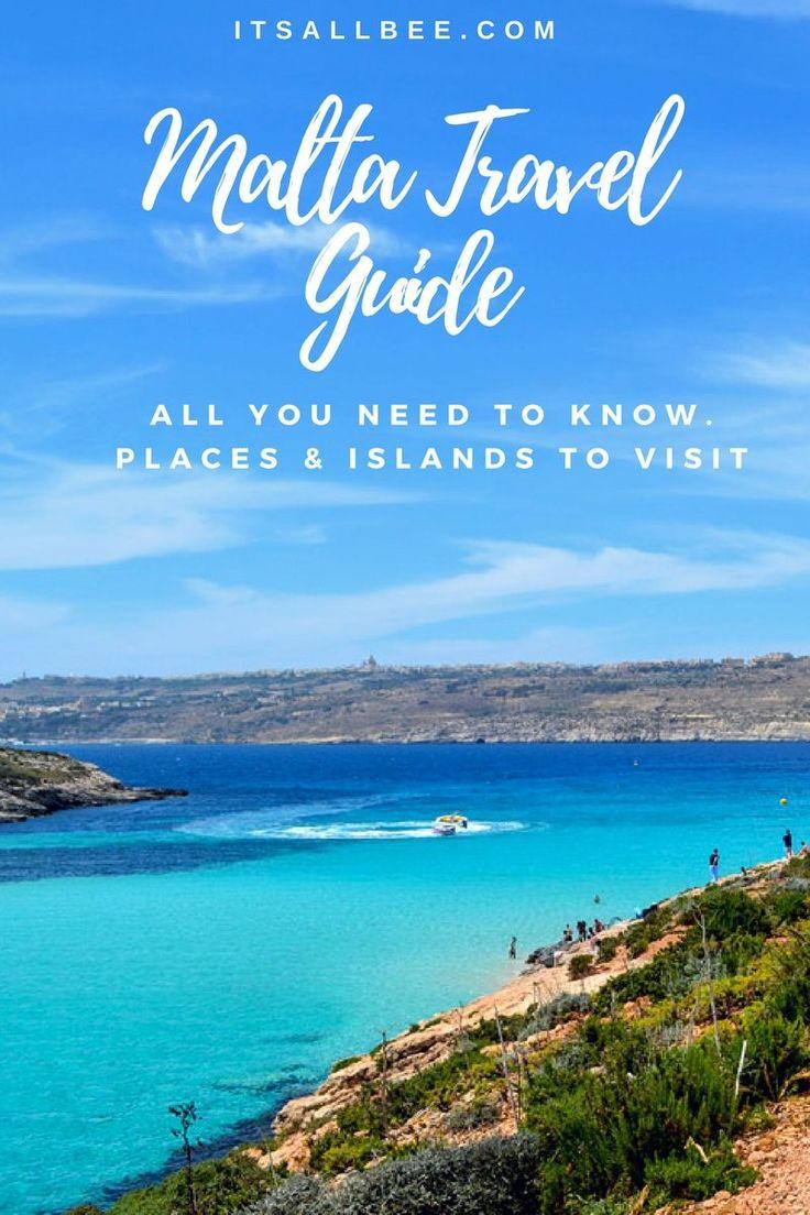 Blue Lagoon Comino Island in Malta - Tips and tricks on how to explore the beautiful island of Malta.    #traveltips #europe     www.itsallbee.com