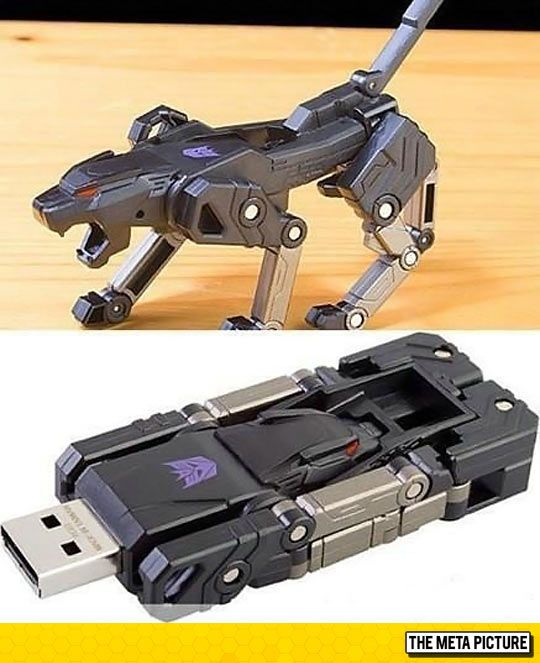 "Transformer USB: aka the best thing everrr "">>>RAVAGE!!! EJECT! EJECT!<<<"""