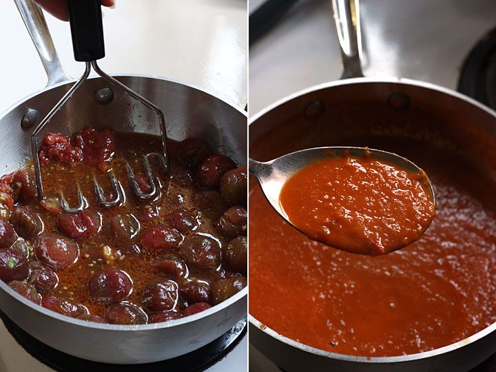 Black Cherry Tomato Sauce