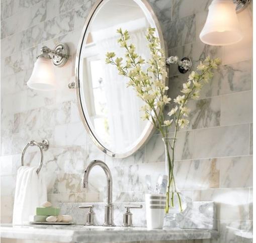 Best Bathroom Images On Pinterest Vanity Barn - Pottery barn mirrors bathroom for bathroom decor ideas