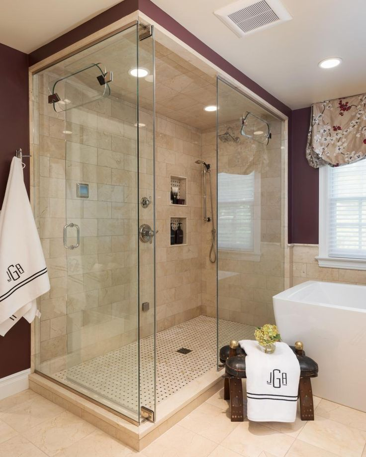 An inviting walk in shower features beige marble tiles that coordinate with  the floor in  Burgundy BathroomBathroom PhotosBathroom IdeasBathroom. Best 25  Burgundy bathroom ideas on Pinterest   Burgundy room