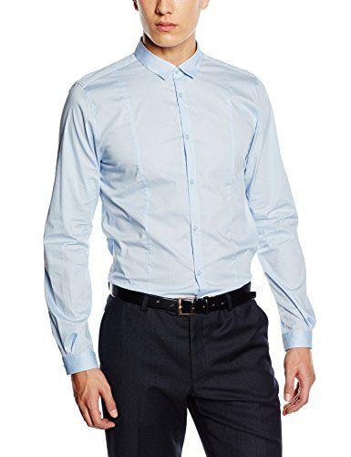 185 kr. TOM TAILOR Men's Slim Fit Long Sleeve Casual Shirt Blue B... https://www.amazon.co.uk/dp/B015DWH9R6/ref=cm_sw_r_pi_dp_x_j-v4xbTD7KRHF