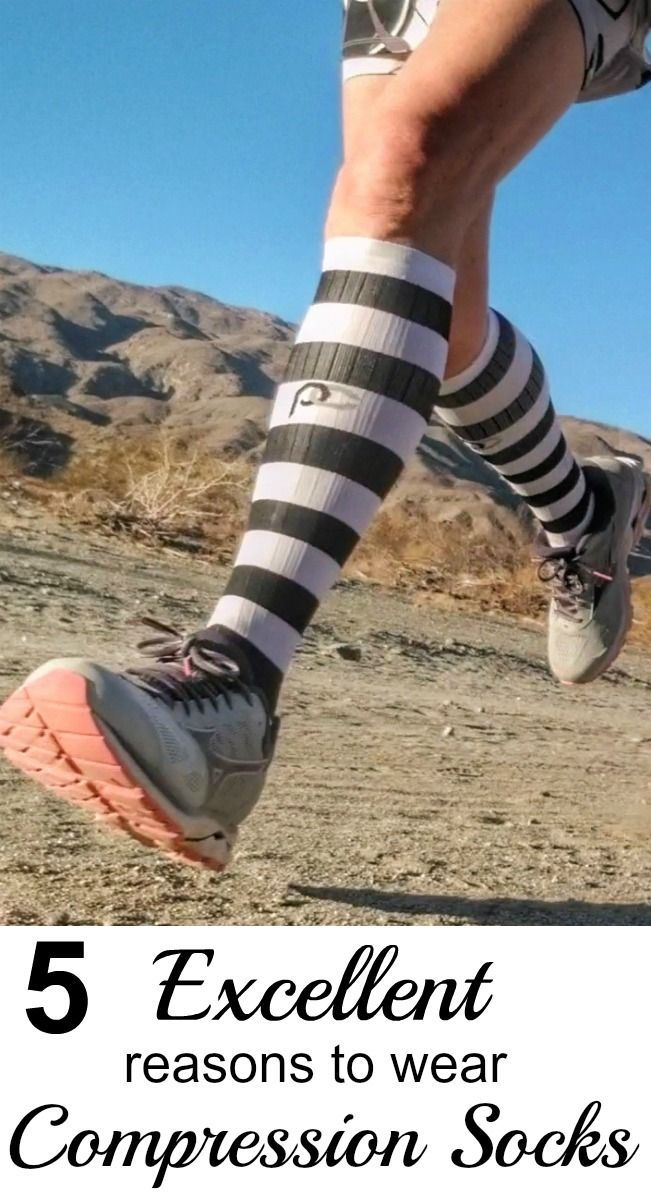 5 Excellent Reasons For Runners To Wear Compression Socks Compression Socks How To Run Faster Running