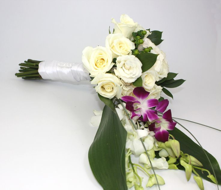 Wedding Flower Bouquets How To Make : Cascading bouquet wedding ideas save