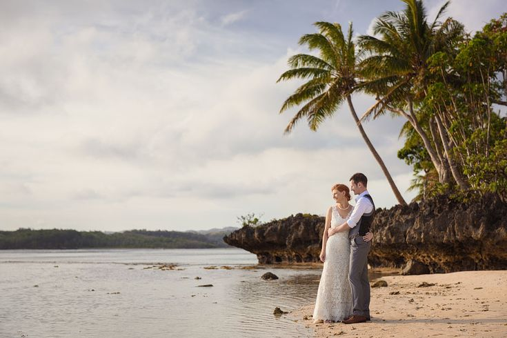 Haley and Chris' Fiji destination wedding | Shangri-la, Fiji