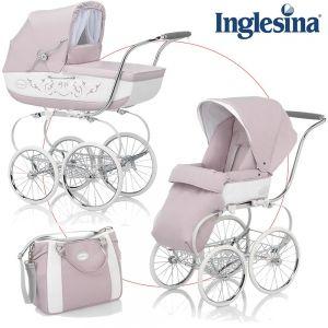 Inglesina Kinderwagen Classica mit Babywanne und Sportwagenaufsatz - PESCA - 2013