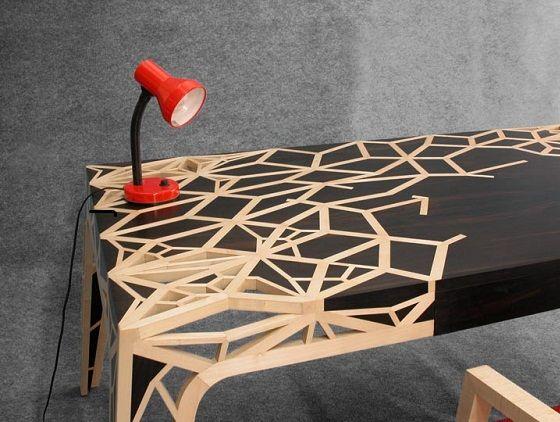15 beaux bureaux qui donnent envie de se mettre au travail | Hebdoblog - Design, Musique...