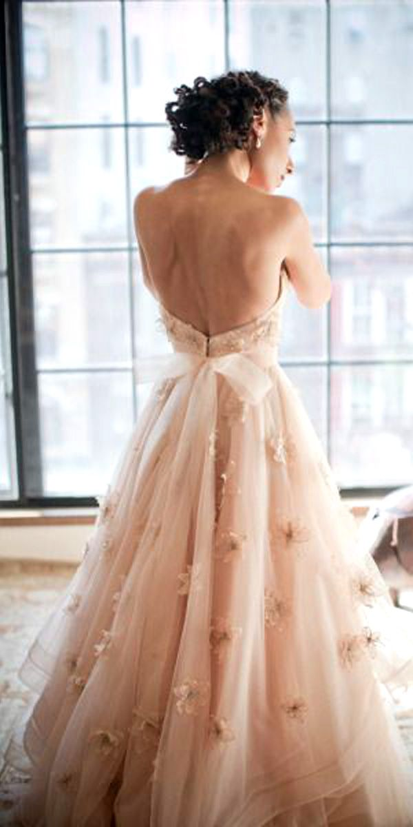 floral applique wedding gowns 2