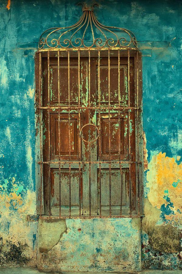 Security Door by Rory McDonald Trinidad http://www.cuba-junky.com/sancti-spiritus/trinidad-home.htm