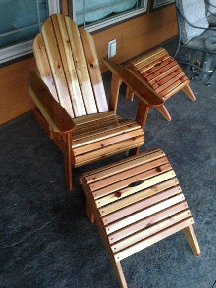 adirondack ottoman plans woodworking projects plans