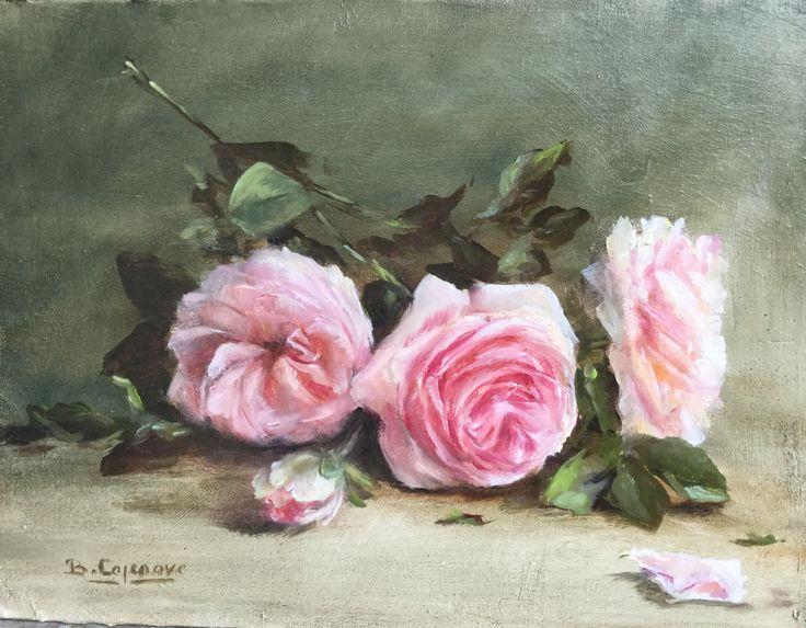 Huile sur toile by Brigitte Cazenave