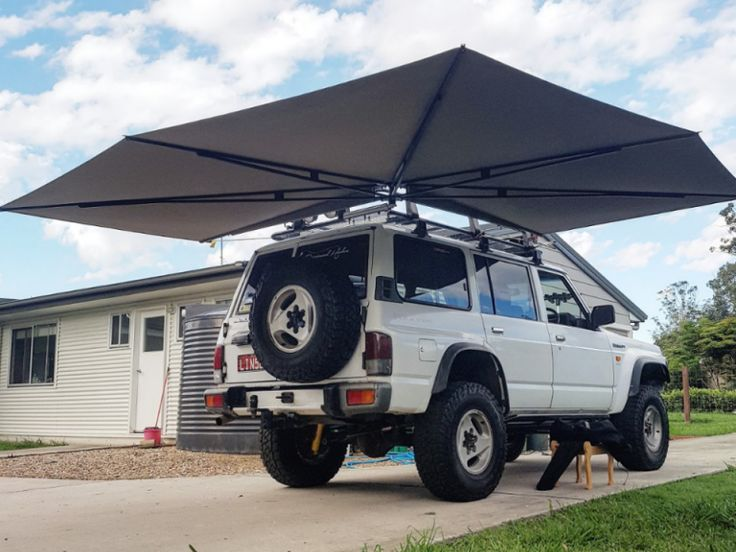 Pin by Oleg on Roof top tent in 2020 Camper awnings, Car
