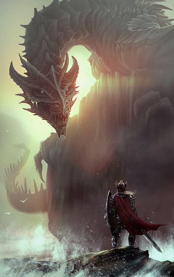 Gemstone Knights: Elder Dragon by norbface on DeviantArt