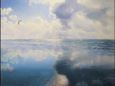 Hoe schilder ik: spiegeling in het water. | Mieke Rozing