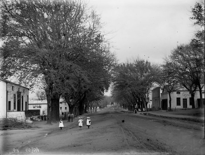 "Paarl Main Road....many moons ago! The Main Road is ""according to rumour"" the longest Main Road in South Africa."