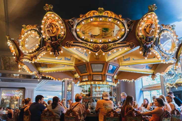 Rounding out the middle of the week with an escape on our Carousel Bar.