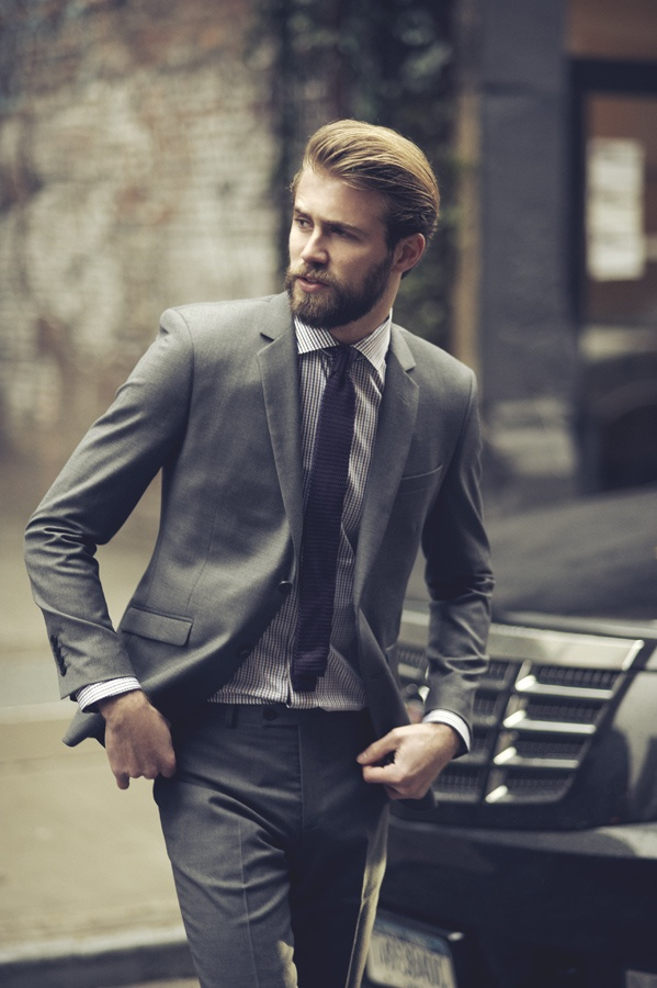 Tom Bull for Barkers: Casual Style, Beards File, Barker Beards, Grey Suits, Fashion Statement, Fit Suits, Beards Style, Gentleman Style, Hot Men