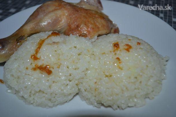Ryža varená v tlakovom hrnci (fotorecept)