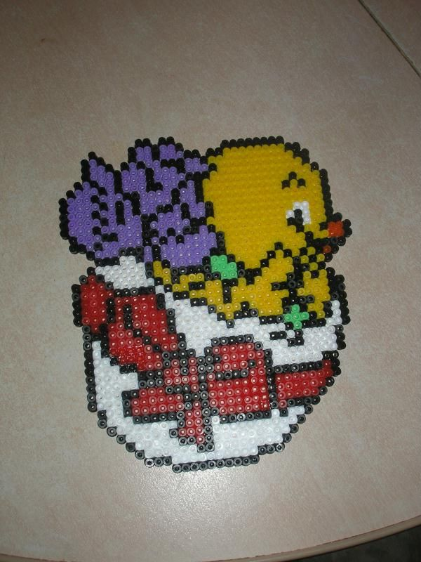 Easter Egg hama beads by laetitia5135