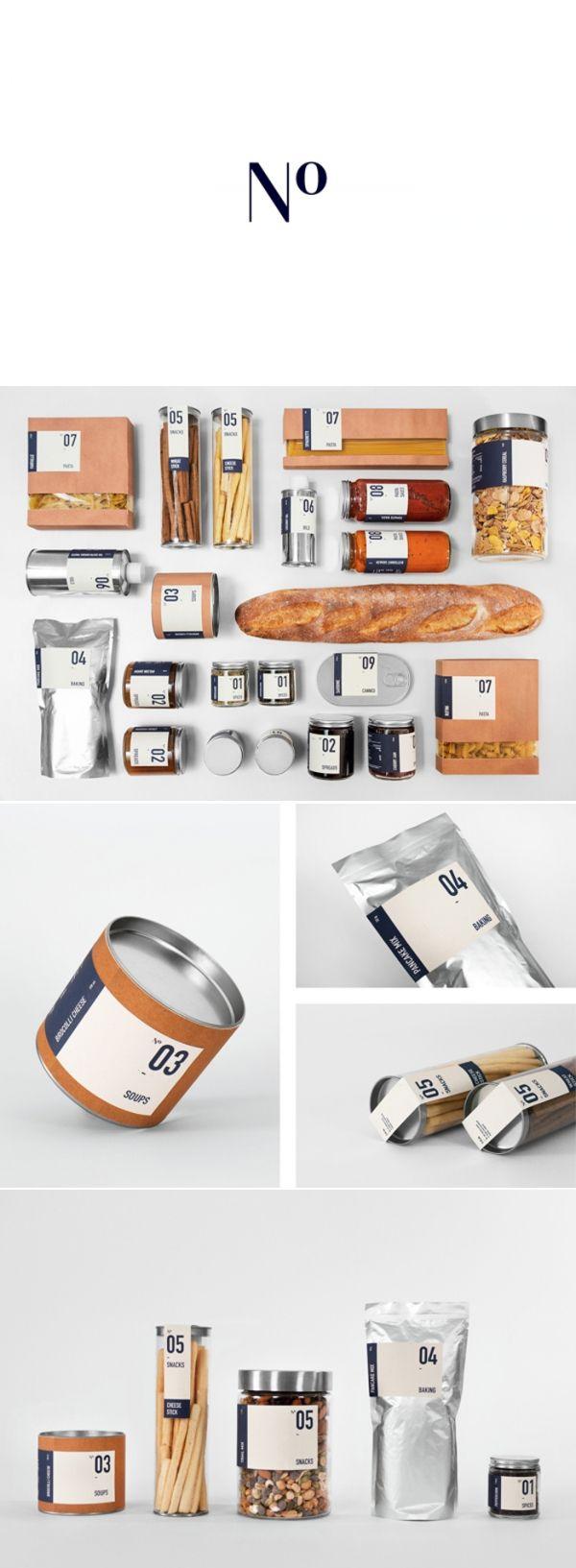 N° - #packaging #package #design